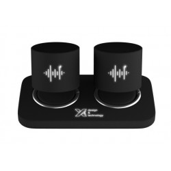 speaker double ring 2 x 3W
