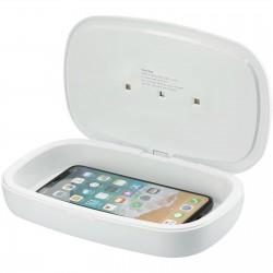 Boitier de stérilisation UV pour smartphone Capsule avec chargeur à induction 5W